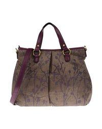 Большая сумка из текстиля Lancetti