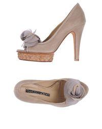 Туфли с открытым носком Francesco Morichetti
