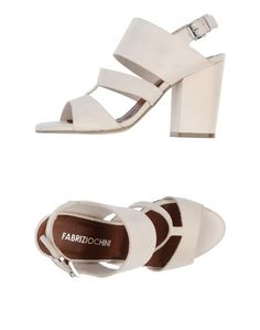Босоножки на каблуке Fabrizio Chini