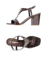 Босоножки на каблуке Oroscuro