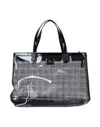 Большая сумка из текстиля GF Ferre'