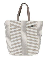 Большая сумка из текстиля Ermanno Ermanno Scervino