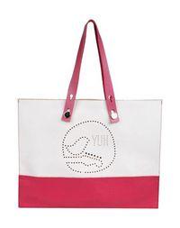 Большая кожаная сумка YUH BY Orciani
