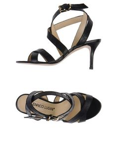 Босоножки на каблуке Enrico Lugani