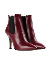 Красные Полусапоги и высокие ботинки 8