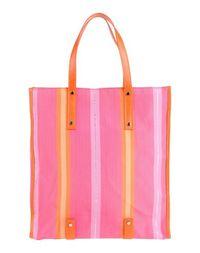 Большая сумка из текстиля Pierre Darre'