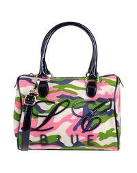 Средняя сумка из текстиля Blue LES Copains