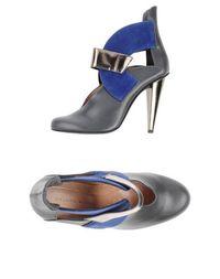 Серые Полусапоги и высокие ботинки Roland Mouret