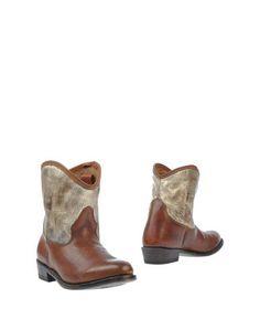 Коричневые Полусапоги и высокие ботинки ASH