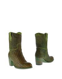 Зеленые Полусапоги и высокие ботинки Rocco P.
