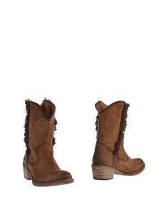 Коричневые Полусапоги и высокие ботинки Nylo