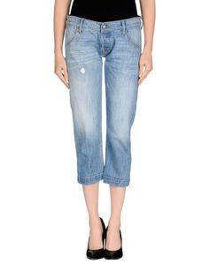 Джинсовые брюки-капри HTC