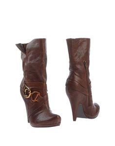 Коричневые Полусапоги и высокие ботинки Jessica Simpson