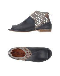 Черные Полусапоги и высокие ботинки MR &Amp; MRS YUO