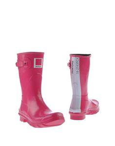 Розовые Полусапоги и высокие ботинки Barbour