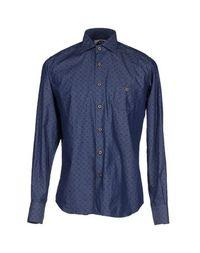 Джинсовая рубашка Mitchumm Industries