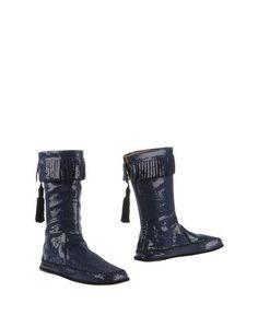 Синие Полусапоги и высокие ботинки Marc Jacobs