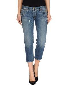 Джинсовые брюки-капри Hollywood Milano
