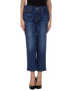 Джинсовые брюки-капри Genetic Denim