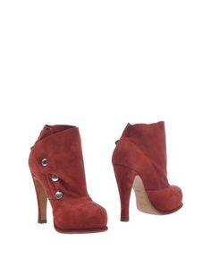 Красные Полусапоги и высокие ботинки Michel Perry
