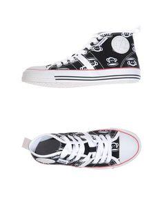 Высокие кеды и кроссовки Paul Frank