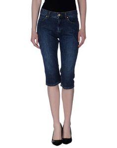 Джинсовые брюки-капри Gattinoni Jeans