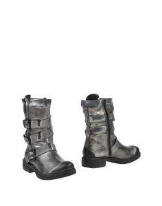 Серые Полусапоги и высокие ботинки Manas