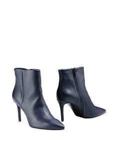 Синие Полусапоги и высокие ботинки 8