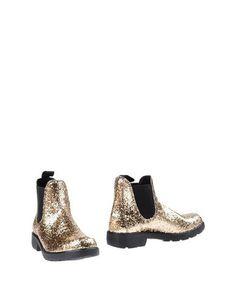 Золотистые Полусапоги и высокие ботинки GEI GEI