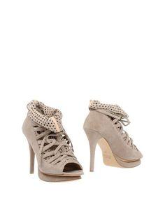 Серые Полусапоги и высокие ботинки E'clat