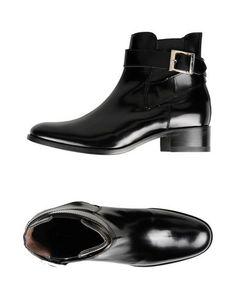 Черные Полусапоги и высокие ботинки Leonardo Principi