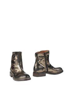Золотистые Полусапоги и высокие ботинки Moma