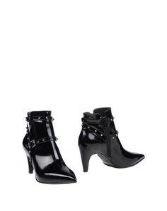 Черные Полусапоги и высокие ботинки Napoleoni