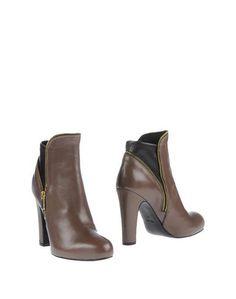 Зеленые Полусапоги и высокие ботинки Fiorifrancesi