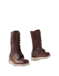 Коричневые Полусапоги и высокие ботинки Premiata