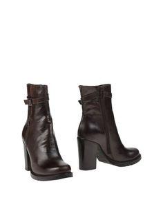 Коричневые Полусапоги и высокие ботинки Accademia