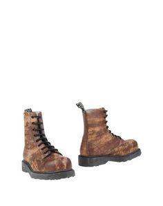 Коричневые Полусапоги и высокие ботинки Cult