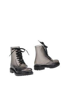 Черные Полусапоги и высокие ботинки G•Six Workshop
