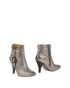 Золотистые Полусапоги и высокие ботинки Nine West