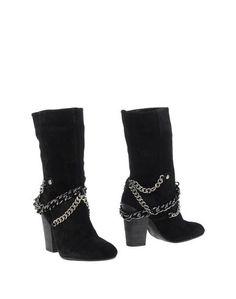 Черные Полусапоги и высокие ботинки Nine West