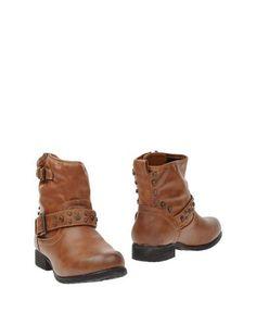 Коричневые Полусапоги и высокие ботинки Primadonna
