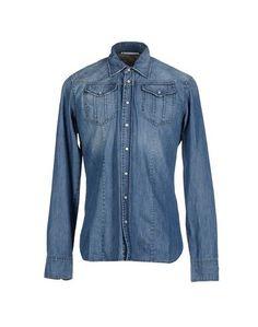 Джинсовая рубашка Allievi