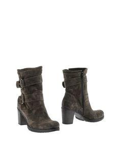 Серые Полусапоги и высокие ботинки Emanuela Passeri