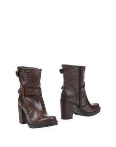 Коричневые Полусапоги и высокие ботинки Alma