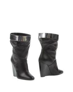 Черные Полусапоги и высокие ботинки Pierre Hardy