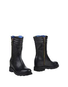 Черные Полусапоги и высокие ботинки Bikkembergs