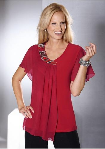 модели блузок для полных женщин с выкройками