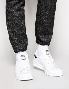 adidas Originals Stan Smith Leather Trainers M20325 - Белый