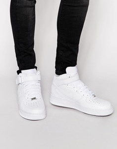 Nike Air Force 1 Mid '07 Trainers 315123-111 - Белый