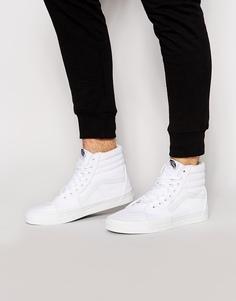 Высокие кроссовки Vans Sk8 - Белый